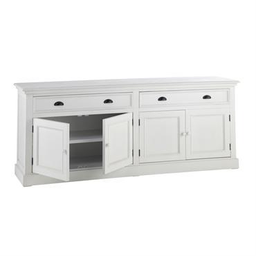 Envie d'un meuble qui allie style et fonctionnalité ? Misez sur le buffet 4 portes 4 tiroirs NEWPORT ! Qu'il soit placé dans votre salle à manger, votre salon ou ...