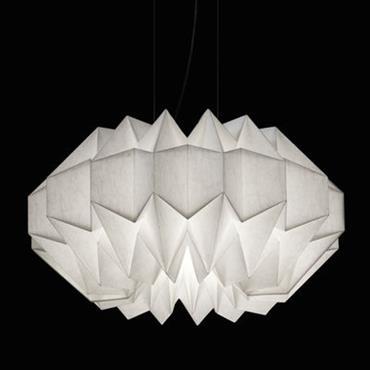 Suspension IN-EI Wuni LED / Ø 48 cm - Artemide Blanc en Papier