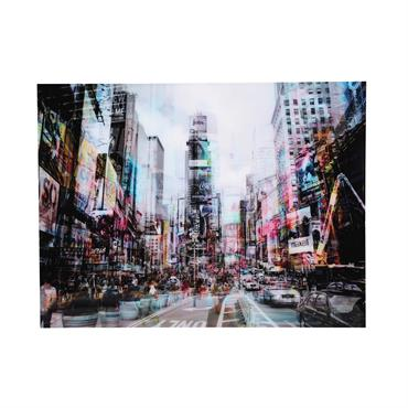 Tableau New York en Plexiglas® 160x120 URBAN TRAFFIC