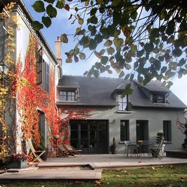 Ravalement maison et création terrasse
