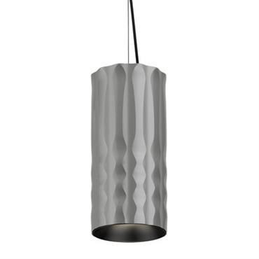Suspension Fiamma / Ø 13 cm - Artemide gris métallisé en métal