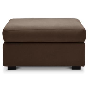 Revêtement : tissu 100% coton 280g/m², légèrement émerisé pour un toucher plus doux. Entièrement déhoussable (par fermeture à glissière) pour faciliter l´entretien. Garnissage : - assise : Mousse polyuréthane HR ...