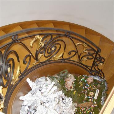 Ramped'escalier de style louis XVI