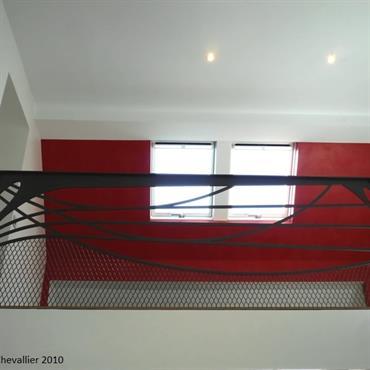 Garde corps design Art Nouveau