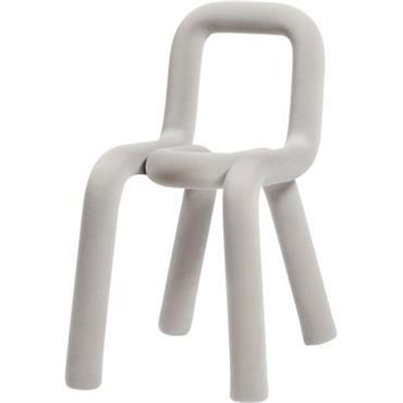 Housse de chaise / Pour chaise Bold - Moustache gris clair en tissu