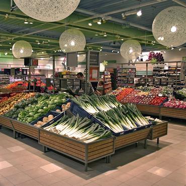 Supermarché avec suspensions Random Light