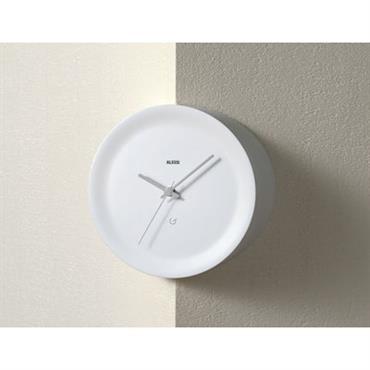Horloge murale Ora Out sur arête murale / Ø 21