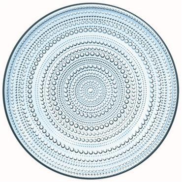 Assiette de présentation Iittala Design Bleu ciel Verre Ø 32 cm Pour célébrer plus de 50 ans de collaboration, Iittala et le designer Oiva Toikka rééditent la célèbre collection Kastehelmi ...