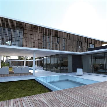 Villa contemporaine à Bali
