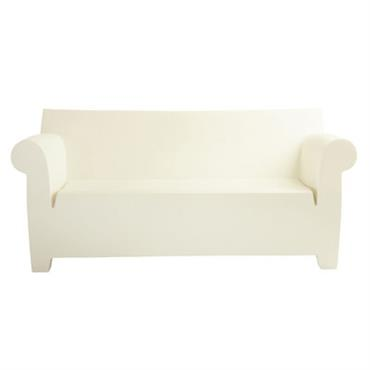Canapé 2 places Bubble Club / L 189 cm - Kartell blanc