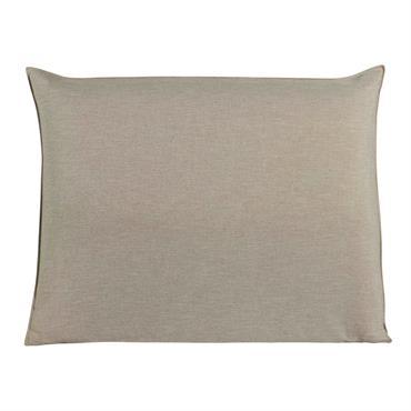 Housse de tête de lit 140 beige Soft