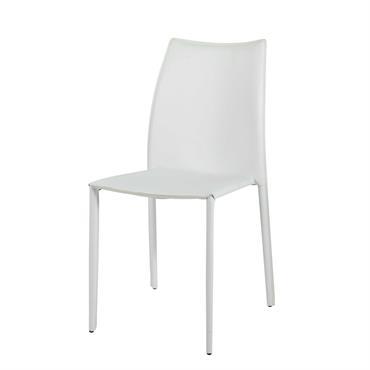 Entièrement revêtue de synderme blanc, cette chaise KLINT donnera un coup d'éclat à votre salle à manger. Avec son design sobre et épuré, cette chaise blanche complètera votre univers contemporain. ...