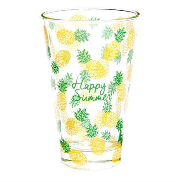 Verre haut en verre HAPPY PINEAPPLE
