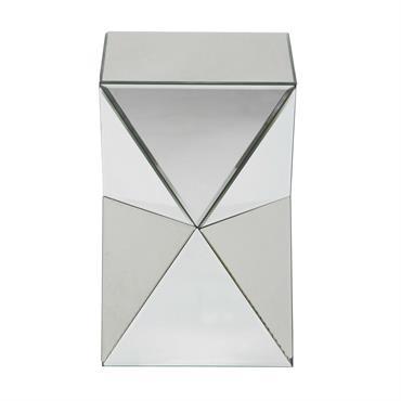 Bout de canapé miroir L 33 cm DIAMANT