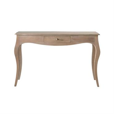 Table console en manguier et acacia Colette
