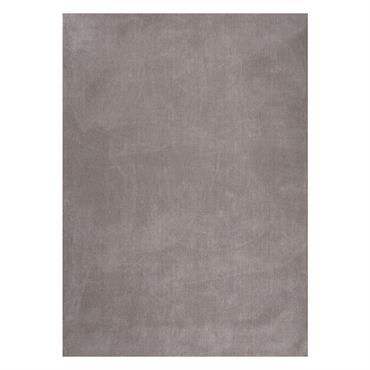 Tapis à poils courts en laine taupe clair 250 x 350 cm SOFT