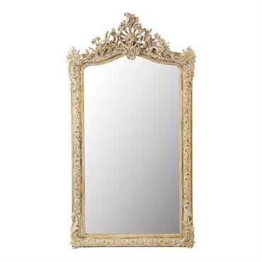 Miroir doré 85x153
