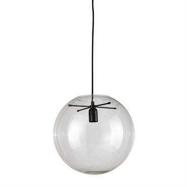 Suspension en verre transparente D 34 cm LAPLACE