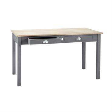 Table de salle à manger en chêne L 140 cm Chablis