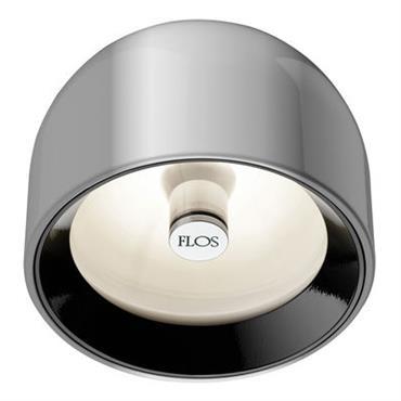 Applique Wan / Plafonnier - Flos aluminium en métal