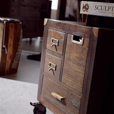 Meuble vintage en bois