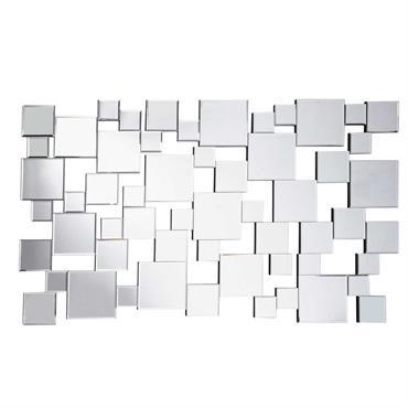 Miroir en métal H 85 cm COLLISION