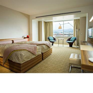 Chambre d'hôtel grande dimension