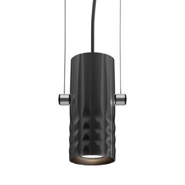 Suspension Fiamma / LED - Ø 6 cm - Artemide Noir en Métal