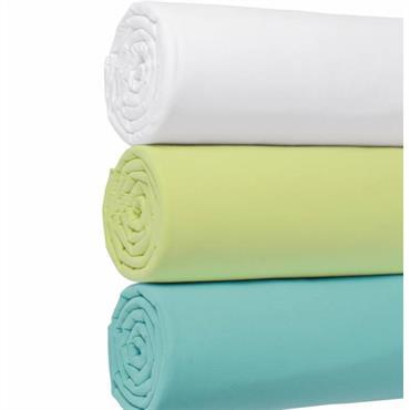 Jersey 100% coton Lavable à 60° Entièrement élastiqué, repassage superflu, extensible convient à tout type de matelas jusqu´à 30 cm d´épaisseur, matière idéale pour l´été