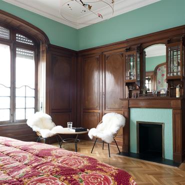 Chambres id e d coration chambres et am nagement domozoom for Idee amenagement chambre adulte