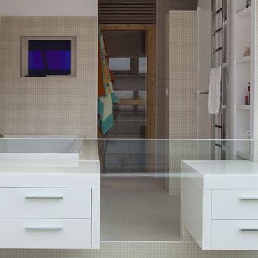 salle de bain moderne : idées, photos, tendances ? domozoom - Calepinage Salle De Bain