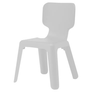 Chaise enfant Alma - Magis Collection Me Too blanc en matière plastique