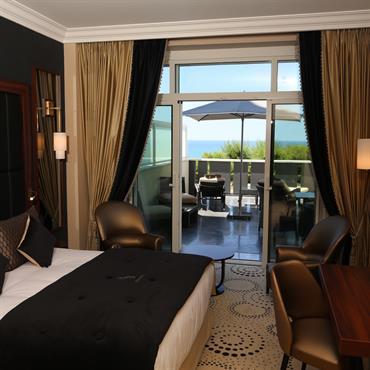 Chambre d'hôtel avec terrasse