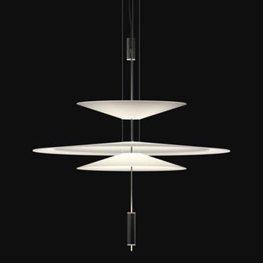 Suspension Flamingo LED / Ø 90 cm - Vibia Blanc