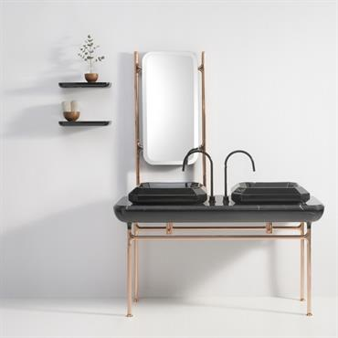 Grande console noire collection Jaime Hayon