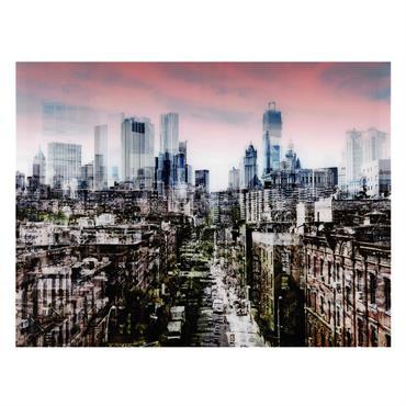 Tableau en plexi® 120 x 160 cm CITY CENTRE