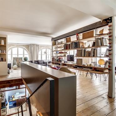 Salon bibliothèque ! ??