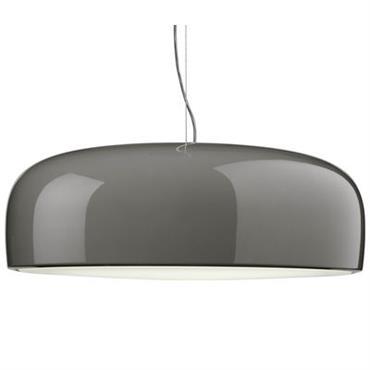 Suspension Smithfield / LED - Flos gris taupe en métal