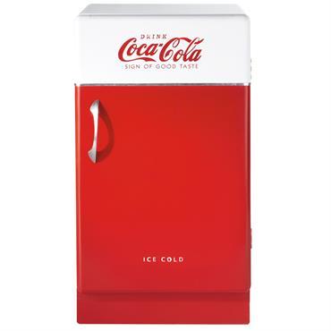 Buffet en bois rouge L 50 cm Coca-Cola