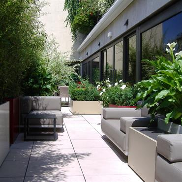 Terrasses design et contemporaines id e d co et am nagement terrasses design et contemporaines - Terras amenagee ...