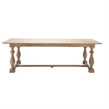 Table de salle à manger en manguier L 250 cm Marceau