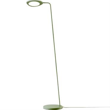 Lampadaire Leaf / LED - Métal - Muuto vert en métal