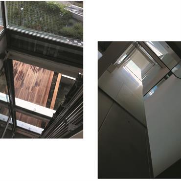 Ascenseur vitré permettant de conserver la luminosité