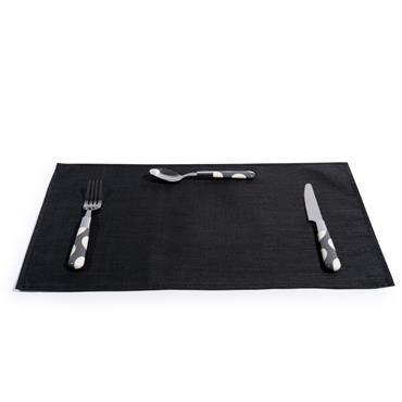 Set de table noir ATELIER