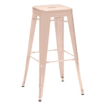 Tabouret de bar H empilable / H 75 cm - Couleur