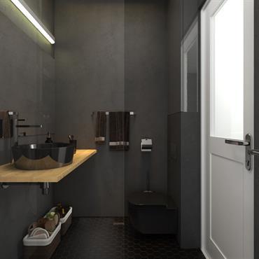 Optimisation petite salle de bain