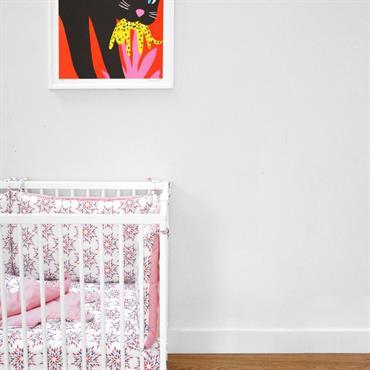 Détail mural chambre enfant