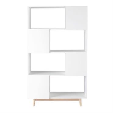 Faites place à un meuble de rangement original avec la bibliothèque vintage blanche ARTIC ! Sur ses étagères, vous pourrez exposer tous vos livres et objets de collections tandis que ...