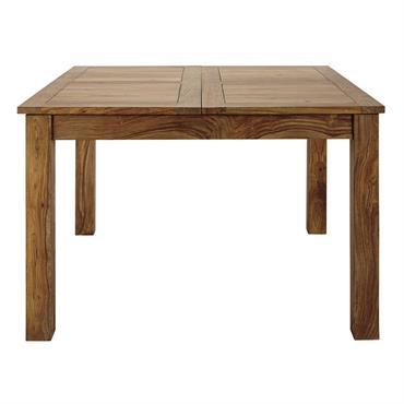 Cette table en bois de sheesham massif STOCKHOLM créera une ambiance conviviale et chaleureuse dans votre salle à manger moderne. Pratique pour les grandes tablées, cette table à manger possède ...