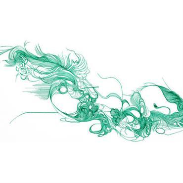 Papier peint Verde / 1 lé - Domestic vert en papier